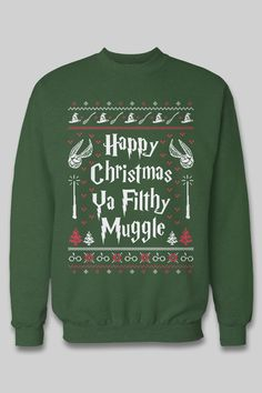 """35 Gifts For Anyone Who Likes """"Harry Potter"""" More Than People The best gift  for Harry Potter fans! I need this ugly christmas sweater 54b0e6ab8"""