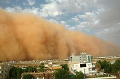 Khartoum Sudan where I experienced my first monsoon