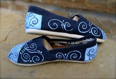 "Custom TOMS Shoes - ""What is Love"" Theme. $125.00, via Etsy."