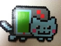Perler bead Nyan cat