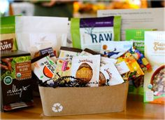 Healthy snacks, delivered to your door