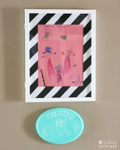 My Sister's Suitcase: How To Display Your Child's Art and $200 Giveaway Blog Hop