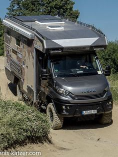 Iveco Daily Camper, Iveco Daily 4x4, Mercedes Sprinter Camper, Mercedes Truck, Off Road Camper Trailer, Camper Trailers, Camper Van, 4x4 Van Conversion, Iveco 4x4