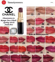 Makeup Swatches, Makeup Dupes, Makeup Geek, Eye Makeup, Chanel Lip Balm, Chanel Lipstick, Lipstick Kiss, Chanel Makeup Looks, Chanel Beauty