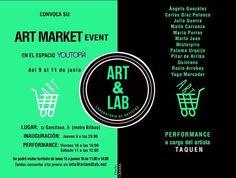 @art_and_lab celebra su #artmarketeventmadrid2016 en @youtopiamadrid. Podréis disfrutar de la obra de 13 artistas emergentes y consagrados y de la performance en directo a cargo de @taquen  @carlosdiezpolanco @jul_guerra @maite.carranza @_mariaporras @martajuanhz @misterpiro @palomaurquijo @pilardearriba @rocioarrobas @yagomh #pintura #painting #streetart #grafitti #photography #arteemergente #arteurbano #grabado #print #sculture #retrato #portraits #paisaje #abstract #abstractart…