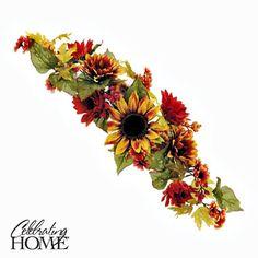 """""""Harvest Sunflower Swag""""   (28½"""")"""