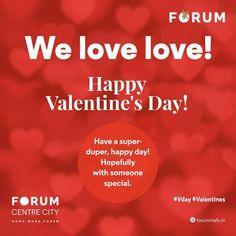 #HappyValentinesDay from all of us to all of you! #nammamysuru #MaharajaofMalla #forummysuru