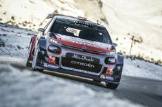 Kris Meeke, Paul Nagle, Citroën WRC, Citroën World Rally Team. Photo by Citroën Communication on January 2017 at Rally Monte Carlo. Citroen Sport, Citroen Car, Monte Carlo, Automobile, Rally Car, Wrx, Car Pictures, Peugeot, Cars Motorcycles