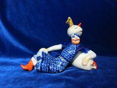 Vintage USSR Porcelain Figurine eneida man collection koresten soviet 1960 ukrainian