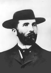 """Soapy Smith, Jefferson Randolph """"Soapy"""" Smith II was a famous con artist, saloon and gambling house proprietor, gangster and crime boss of the nineteenth century old west. A con involving soap in Leadville, Colorado earned him his nickname. Soapy Smith, Old West Outlaws, Skagway Alaska, Real Cowboys, American Frontier, Thats The Way, Gold Rush, The Victim, Inevitable"""