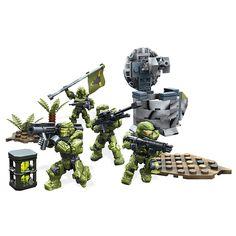"""Mega Bloks Halo UNSC Fireteam Taurus Playset - Mega Bloks - Toys""""R""""Us"""