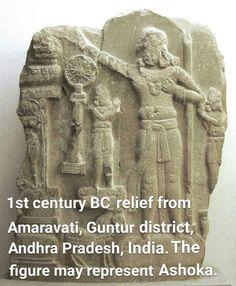 Ashoka the Great was an Indian emperor of the Maurya Dynasty, who ruled most of India between 269-232BC. Ancient Aliens, Ancient Egypt, Ancient History, Hare Krishna, Ashoka Chakra, Ancient Scripts, Ancient Symbols, Arte Tribal, History Of India