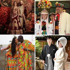 Traditional Wedding Outfits Around the World