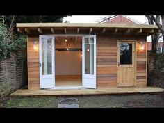 Man Cave - She Shed, Eco Shed from Bottom of my Garden owned by Angus McGregor  #shedoftheyear @glopartyband