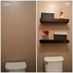 Master Bathroom Toilet Room Updates