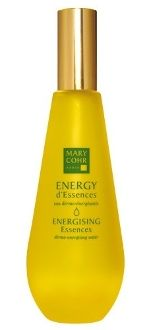 "Mary Cohr Energising Essences - 100ml dermo-energising water  Refreshing and dermo-energising water to achieve skin which is immediately vitalised and toned. ENERGY d'Essences ""puts sun in your skin"" and its cocktail of essential oils provides your body with a full energising programme! •Ginseng Extract: Tones, remineralises and regenerates the skin thanks to its trace elements, such as Calcium, Iron and Magnesium."