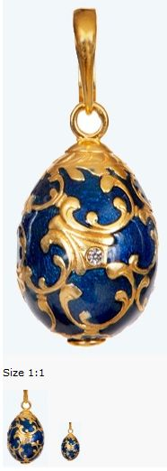 My fictional jewelry designer Tatiana Pavlova would love this! Original Design by Carl Faberge
