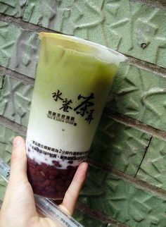 Tapioca balls are the prevailing chewy tidbit in bubble tea, but a wide range of other options can be used to add similar texture. Green pearls have a small hint of green tea flavor, and are chewier than tapioca balls. Jelly is also used in small cubes, stars, or rectangular strips, with flavors such as coconut jelly, konjac, lychee, grass, mango, and green tea. Azuki bean or mung bean paste, aloe, egg pudding (custard pudding), sago, and taro balls can also be found in most tea houses.