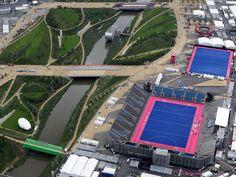 Instalaciones de Londres vistas desde el cielo