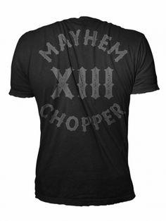 Mayhem Chopper XIII S/G - MEN OF MAYHEM - #shirt #chopper #Black #grau  #badass #mayhem #clothing #bikes #13 #selfjustice #tattoo #harley #girl #fashion #tattoo #Look #Fitness #Model #ink #crew #True #urban #street #gang #fight #mc #crime #oldschool #guns #menofmayhem13 #mma #fighter #bike #cage #motorcylcle #apparel #chopper #onlinestore #menofmayhem