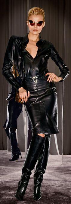 """leather-fashionista: """"Leather Fashion """""""