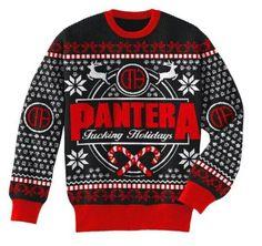 Heavy Metal Ugly Christmas Sweaters