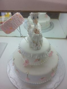 Baby Shower Cake Topper Boys Baby Shower Pink por PartyFavorsMiami