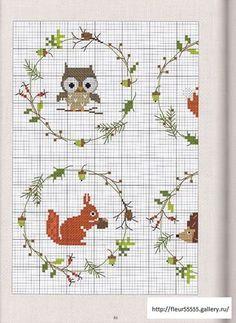 wildlife winter embroidery. @Amanda Snelson Snelson Snelson Snelson this looks right up your alley :)