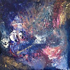 """Saatchi Art Artist Diane Cox; Painting, """"Dancing in Darkness"""" #art"""