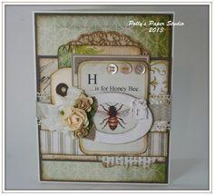 Shabby Chic & Bee card