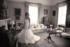 bride in the drawing room - Alison Hancock