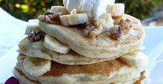 Banana Pancakes I Baby Food Recipes, My Recipes, Cooking Recipes, Favorite Recipes, Recipies, Banana Pancakes, Pancakes And Waffles, Breakfast Pancakes, Good Food