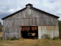 Tobacco Barn, Rural Kentucky