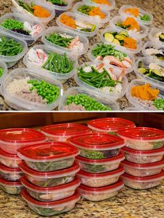 (Good idea for hubby) Meal Prep Day, Clean Eating, Body Building Diet. I love my freezer meals but this would be great for lunches! Healthy Meal Prep, Healthy Snacks, Healthy Recipes, Weekly Recipes, Detox Recipes, Clean Eating Recipes, Cooking Recipes, Eating Clean, Eat Better
