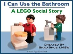 This social story helps students understand bathroom steps in a fun, meaningful way that makes sense to them, as students find the LEGO minifigures engaging and memorable. While this social story is particularly useful to children with autism and related disabilities, it is also helpful for ALL children learning to use the bathroom.