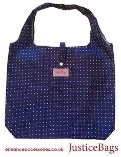 Justice Bag - Jane (navy) design #justicebags