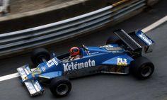 1983 GP Monaco (Piercarlo Ghinzani) Osella FA1E - Alfa Romeo