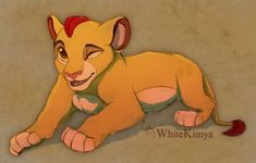 Young Kion by WhiteKimya