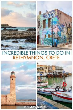 Things to Do in Rethymnon, Crete Planning a magical trip to Rethymnon, Crete? This Rethymnon travel guide (also written Rethimno, Rethymno, or Rethimnon) will help you plan your trip. Let us help you plan your Rethymnon itinerary! Heraklion, Rethymnon Crete, Greece Vacation, Greece Travel, Travel Europe, European Travel, Places To Travel, Travel Destinations, Places To Visit