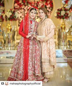Beautiful bride and awesome click by Asian Wedding Dress, Pakistani Wedding Outfits, Pakistani Bridal, Bridal Outfits, Bridal Lehenga, Pakistani Dresses, Bridal Dresses, Shadi Dresses, Red Lehenga