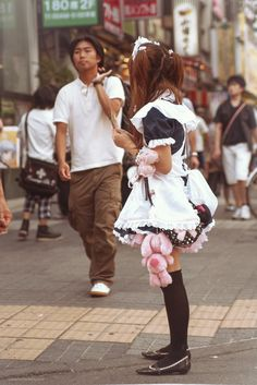 Akihabara cafe maid. (by BeboFlickr)