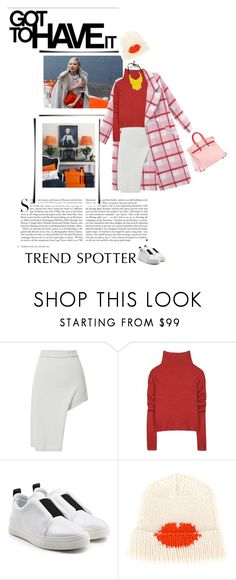 """""""Untitled #1084"""" by madamelove ❤ liked on Polyvore featuring Kershaw, Opening Ceremony, Haider Ackermann, Pierre Hardy, Lala Berlin, Prada, INC International Concepts, plaid, sneakers and winterstyle"""