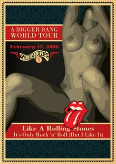 Rolling Stones - poster by Tadeu-Amaral on DeviantArt Rolling Stones Music, Rolling Stones Tour, Like A Rolling Stone, El Rock And Roll, Rock And Roll Bands, Tour Posters, Band Posters, Music Posters, Blues Rock