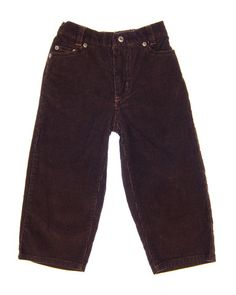 2T Boys Pants by CALVIN KLEIN | Kidz Outfitters  Brown corduroy with five pocket style and elastic waist on back.