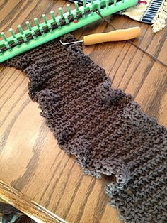 Pikes Peak Ruffle Scarf Pattern For Sale