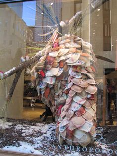 Anthropologie Display in NYC 2010