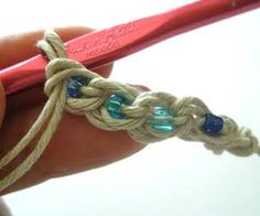 How to Crochet a Hemp Bracelet or Anklet
