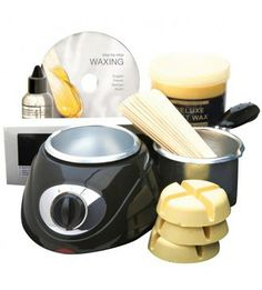 Complete Wax Kit from Rio - includes two different types of wax for different areas. Waxing Kit, Body Waxing, Rio Beauty, Types Of Wax, Wax Hair Removal, Machine Embroidery Projects, Flower Fairies, Diy Arts And Crafts, Total Body