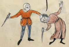 "Detail from ""The Rutland Psalter"", medieval (c1260), British Library Add MS 62925. f 79r"