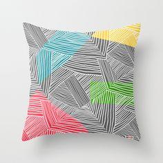 Lines pillow cover de thegretest por DaWanda.com
